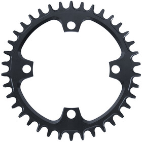 Garbaruk 104BCD Chainring Round, negro
